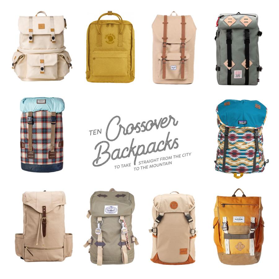 crossover backpacks