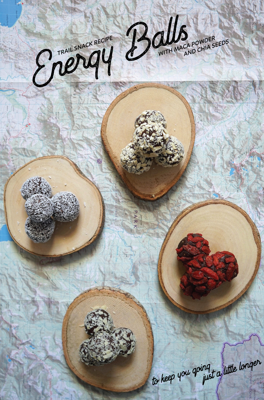 energy balls recipe - For the Love of Outdoors