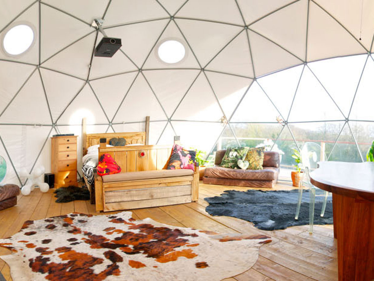 8 Dome Cabins and Tents - Make your own