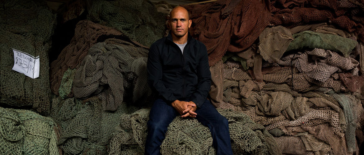 Gear made from Fishing Nets - Outerknown x ECONYL -Kelly Slater