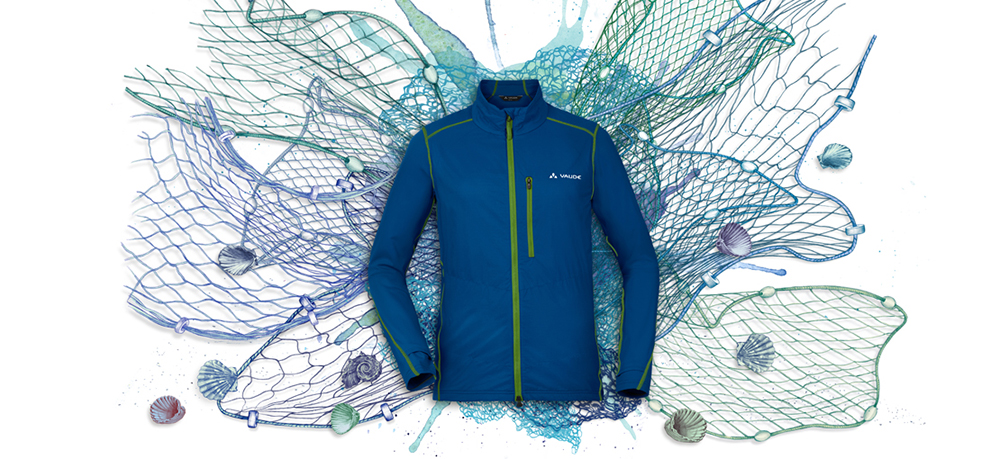 Gear made from Fishing Nets - Vaude x ECONYL - scopi jacket