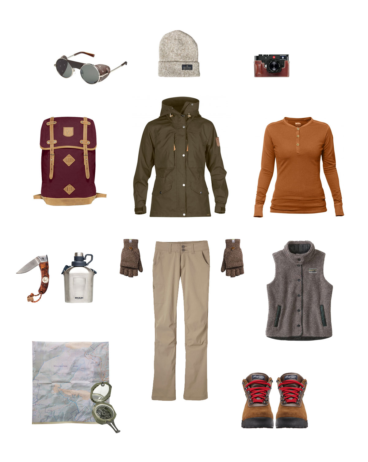 vintage inspired hiking gear - For the Love of Outdoors